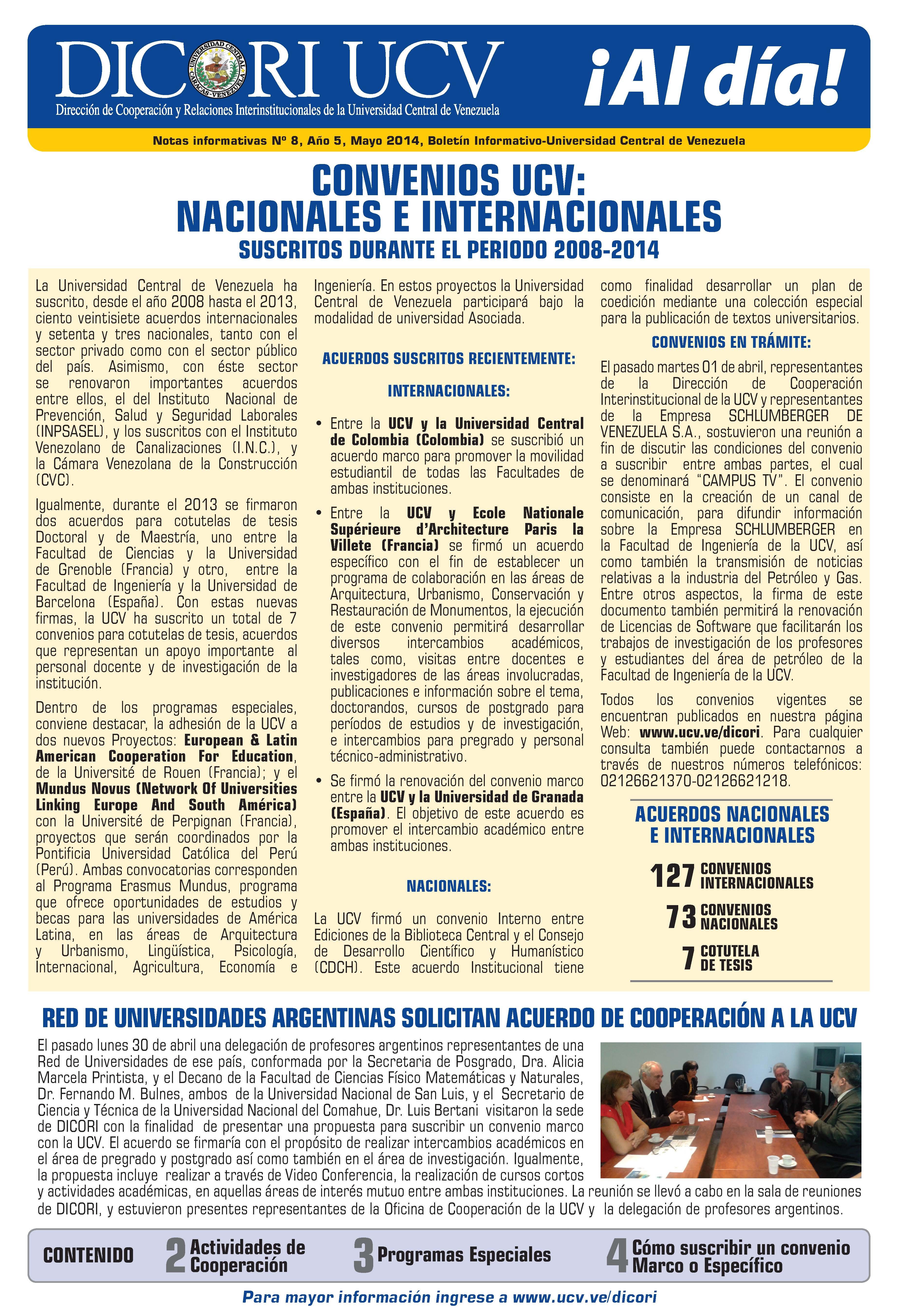 Boletin Mayo 2014